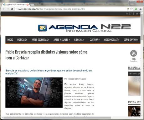 Canal 22 prensa